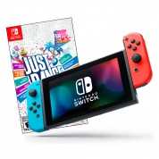 Nintendo Switch Bundle неоновая и Just Dance 2019