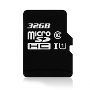 Карта памяти Kingston microSDHC Class 10 32GB + SD adapter