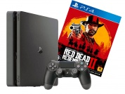 Игровая приставка Sony PlayStation 4 Slim 1 ТБ + Red Dead Redemption 2