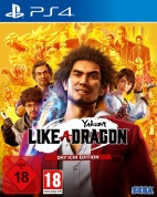 Yakuza: Like a Dragon - Day Ichi Steelbook Edition (PS4, английская версия)