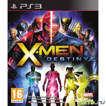 X-Men Destiny (Русская документация) (PS3)