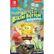 SpongeBob SquarePants: Battle For Bikini Bottom – Rehydrated [Nintendo Switch, русские субтитры]