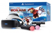 Sony PlayStation VR Шлем виртуальной реальности + камера + 2-а джойстика move + Marvel's Iron Man