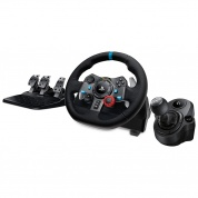 Игровой руль Logitech G29 Driving Force + коробка передач для PlayStation 4