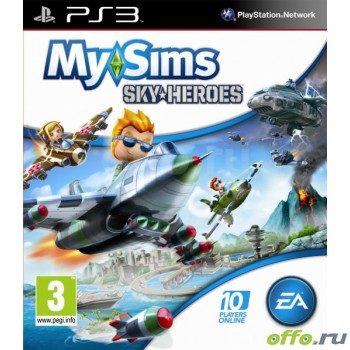 My Sims Sky Heroes (PS3)