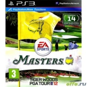 Tiger Woods PGA Tour 12: Masters (c поддержкой Move) (PS3)