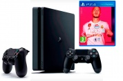 Игровая приставка Sony PlayStation 4 Slim 1 ТБ + 2-й джойстик + игра FIFA 20