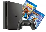 Sony PlayStation 4 Slim 500 GB + Crash Team Racing + Ratchet & Clank
