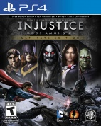 Injustice: Gods Among Us - Ultimate Edition [PS4, русские субтитры]