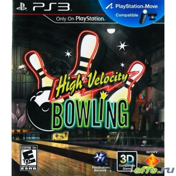 High Velocity Bowling для PlayStation Move с поддержкой 3D (PS3)
