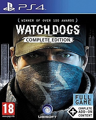 Watch_Dogs - Complete Edition [PS4, русская версия]