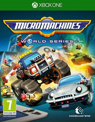 Micro Machines: World Series [Xbox One, английская версия]
