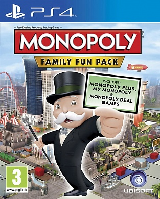 Monopoly Family Fun Pack [PS4, английская версия]