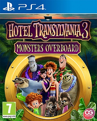 Hotel Transylvania 3: Monsters Overboard [PS4, английская версия]