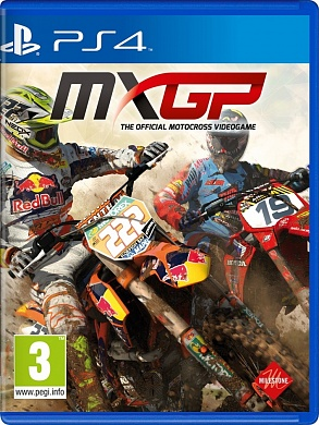 MXGP The Official Motocross Videogame [PS4, английская версия]