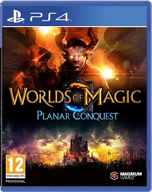 Worlds of Magic Planar Conquest [PS4, английская версия]