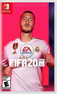 FIFA 20 (Nintendo Switch, русская версия)