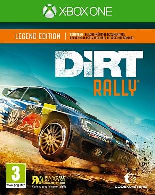 Dirt Rally [Xbox One, русская версия]