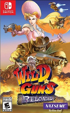 Wild Guns: Reloaded [Nintendo Switch, английская версия]