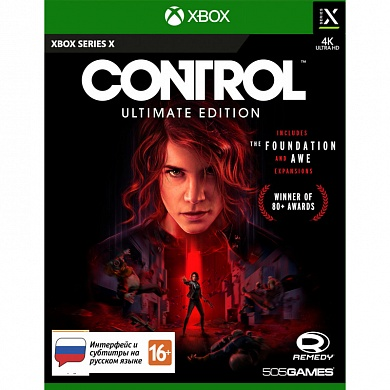 Control Ultimate Edition (Xbox Series X, русские субтитры)